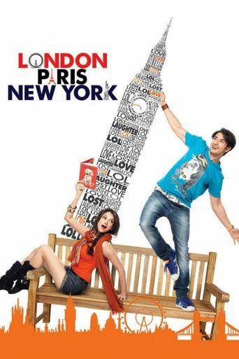 London, Paris, New York Poster