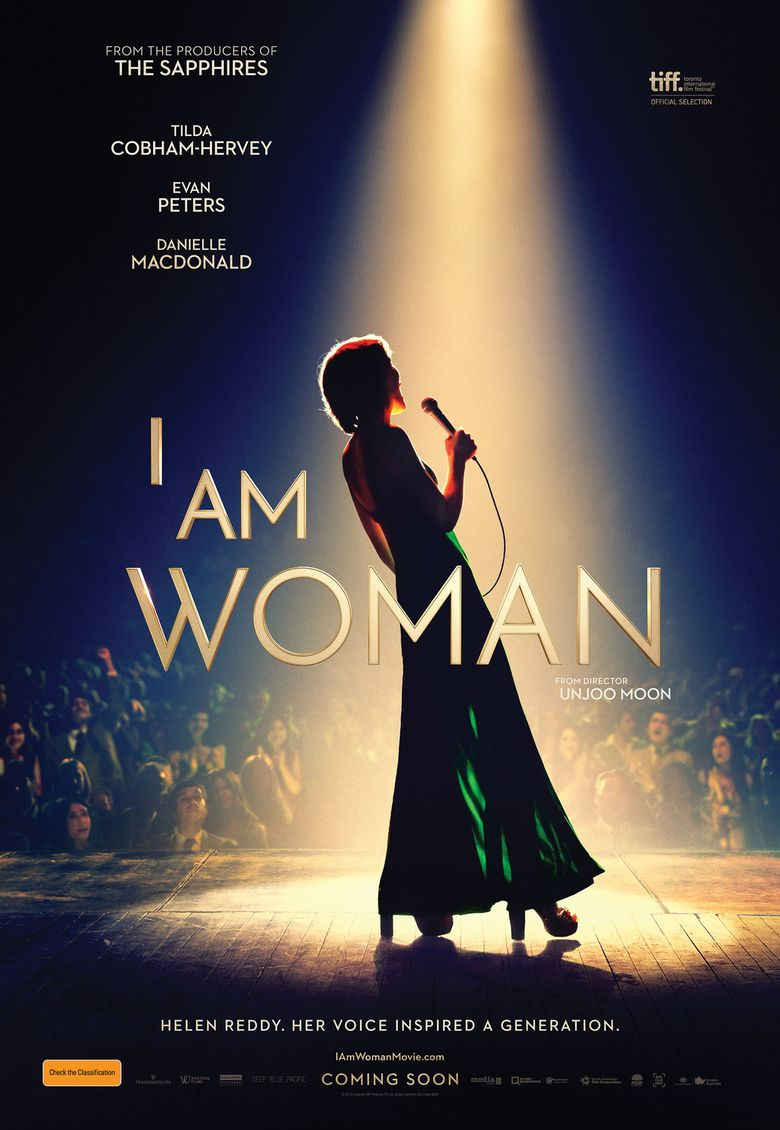 I Am Woman Poster