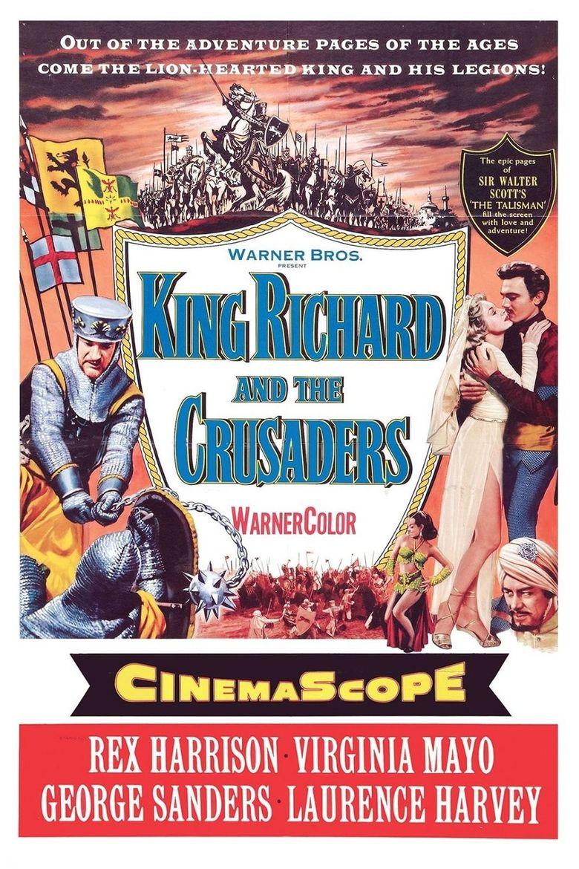 King Richard and the Crusaders Poster