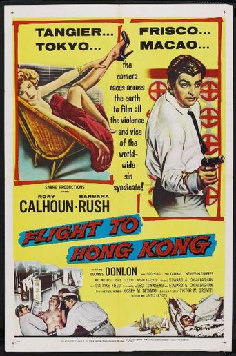 Flight to Hong Kong Poster