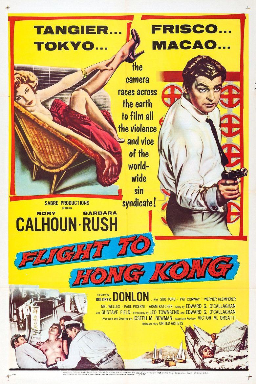 Flight to Hong Kong Poster