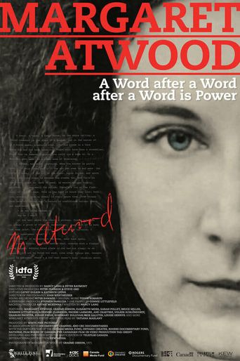 Margaret Atwood - A Word after a Word after a Word is Power Poster