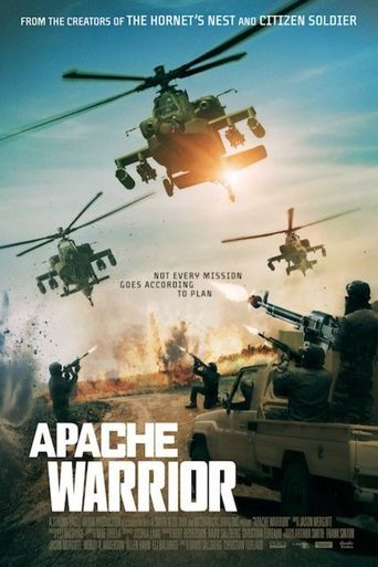 Apache Warrior Poster