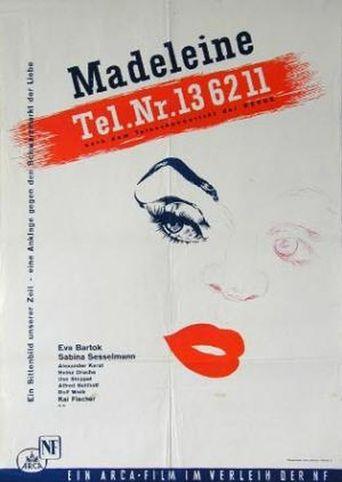 Madeleine Tel. 13 62 11 Poster