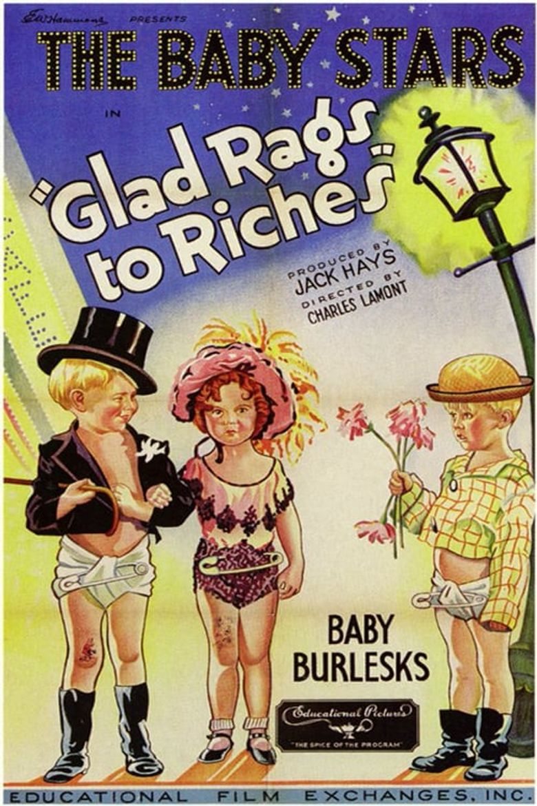 Glad Rags to Riches Poster