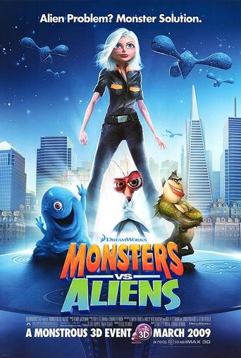 Watch Monsters vs Aliens