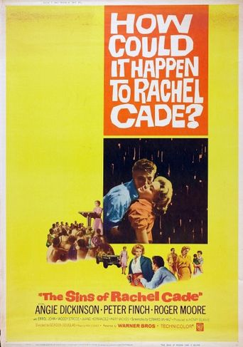 The Sins of Rachel Cade Poster