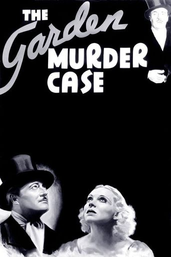 The Garden Murder Case Poster
