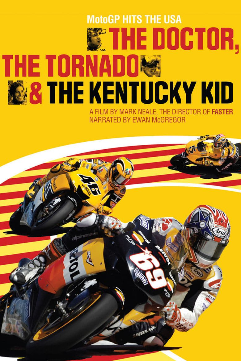 The Doctor, The Tornado & The Kentucky Kid Poster