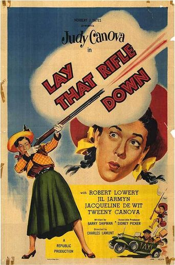 Lay That Rifle Down Poster