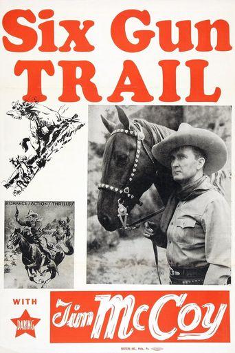 Six-Gun Trail Poster