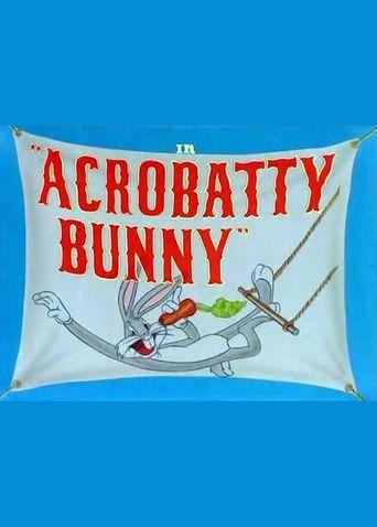Acrobatty Bunny Poster