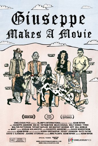 Giuseppe Makes a Movie Poster
