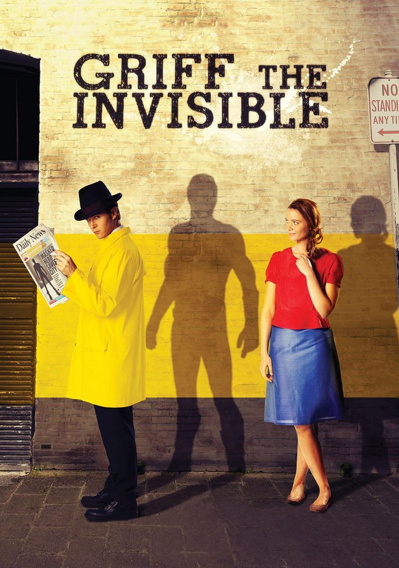 Griff the Invisible Poster