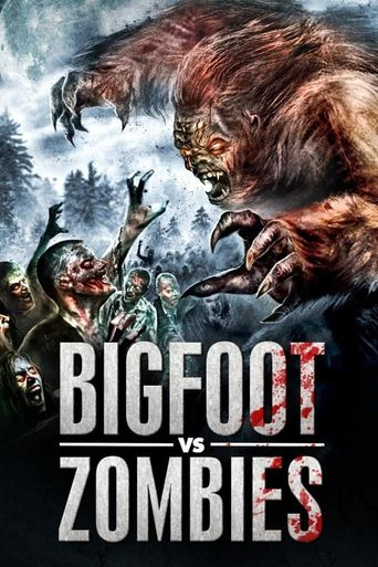 Bigfoot vs. Zombies Poster