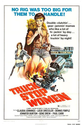 Truck Stop Women Poster