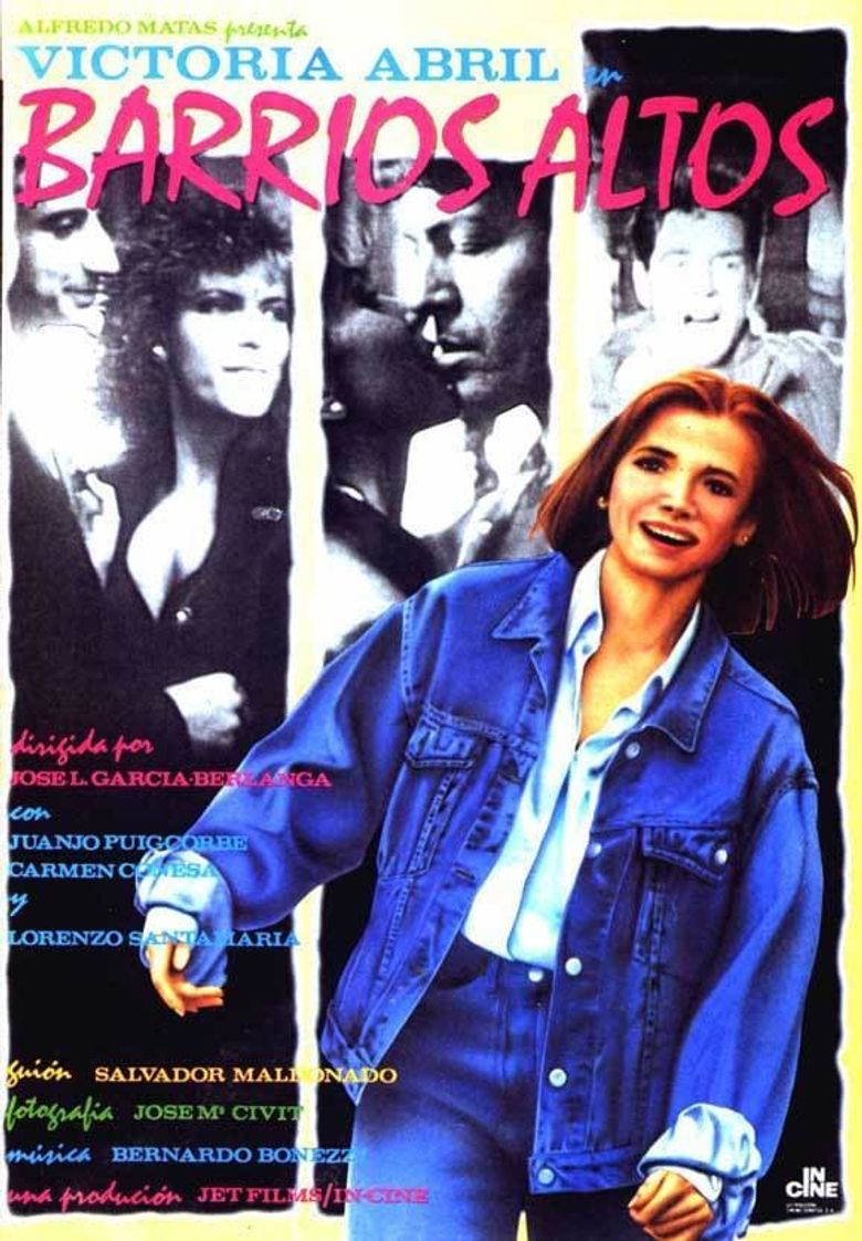 Barrios Altos Poster