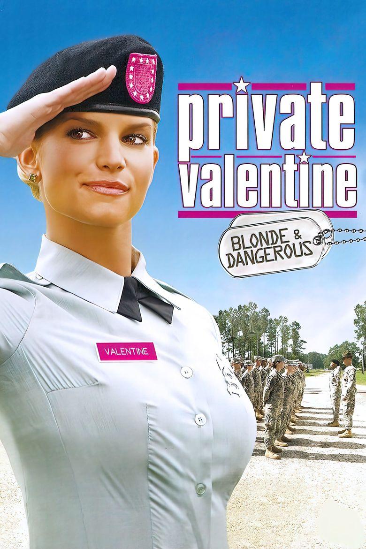 Private Valentine: Blonde & Dangerous Poster