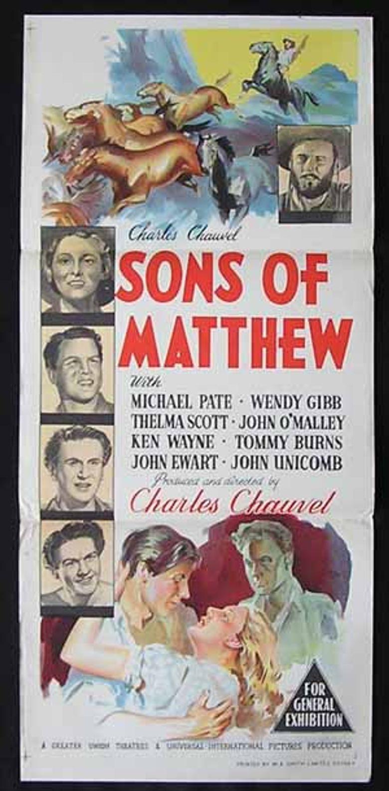 Sons of Matthew Poster
