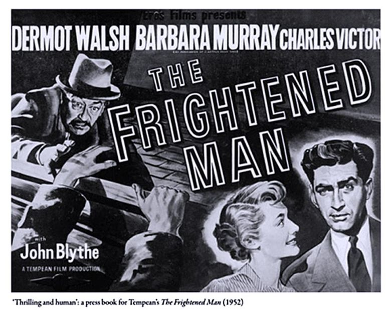 The Frightened Man Poster