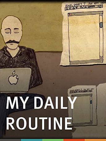 My Daily Routine Poster
