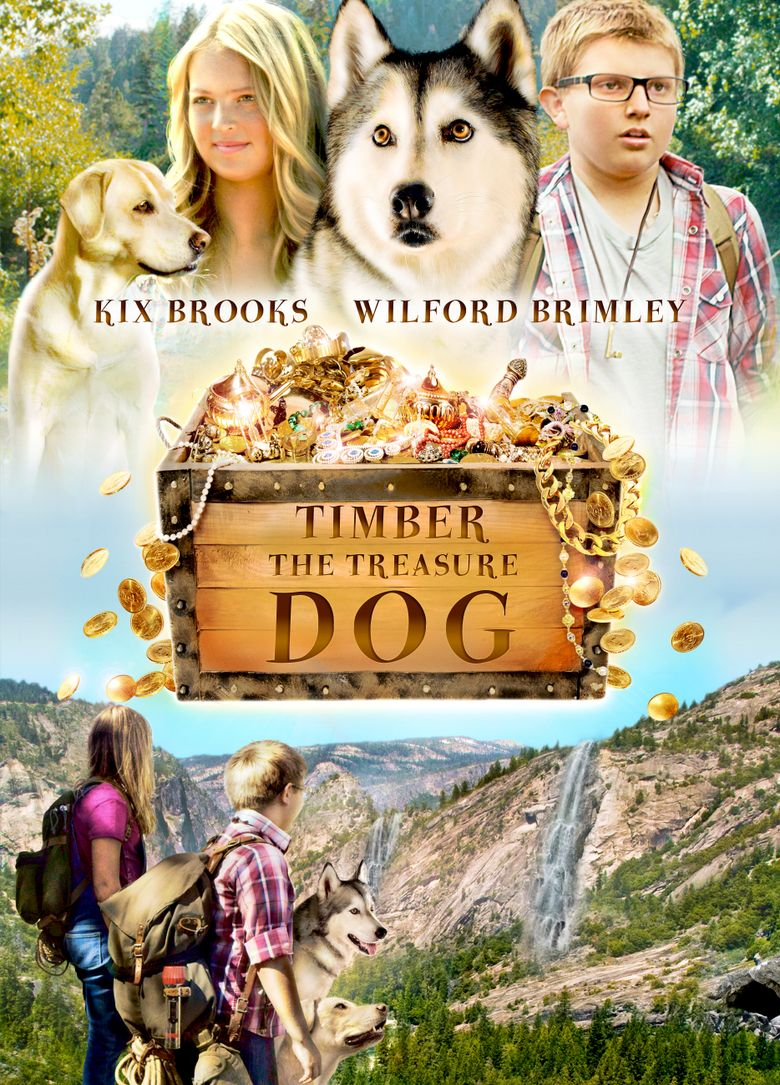 Timber the Treasure Dog Poster