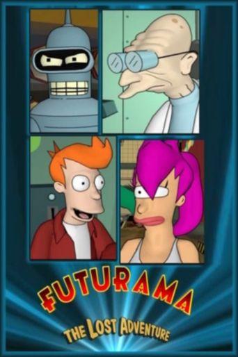 Futurama: The Lost Adventure Poster