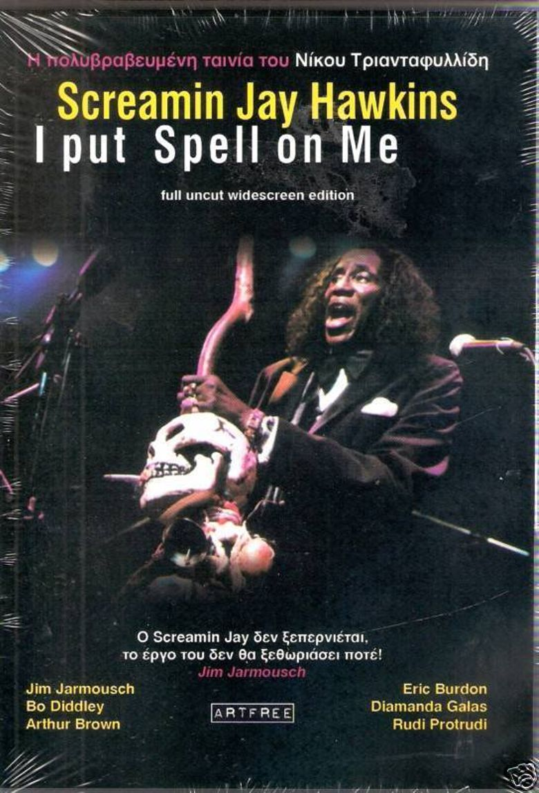 Screamin' Jay Hawkins: I Put a Spell on Me Poster