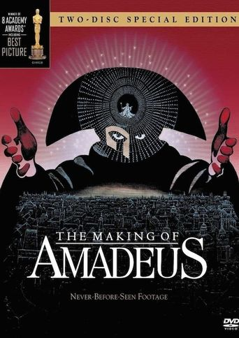 The Making of 'Amadeus' Poster