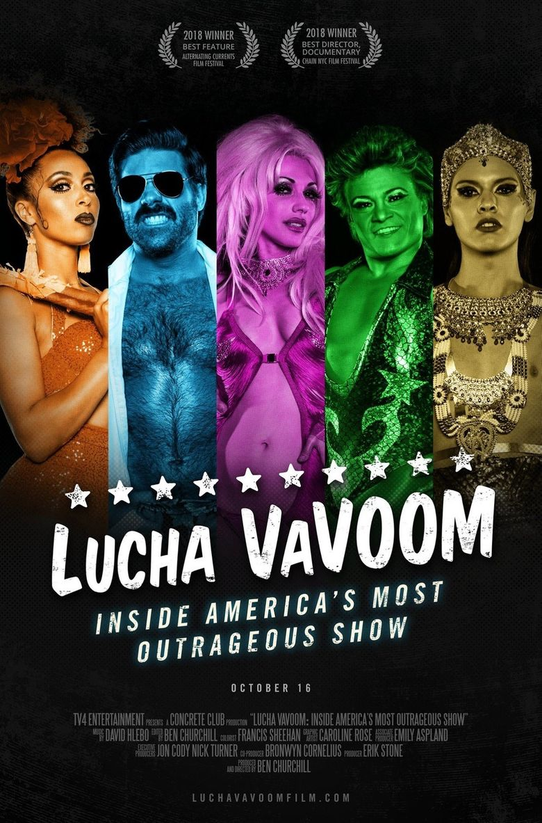 Lucha VaVoom: Inside America's Most Outrageous Show Poster