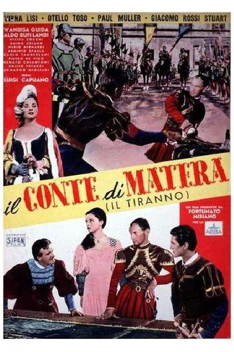 Il conte di Matera Poster