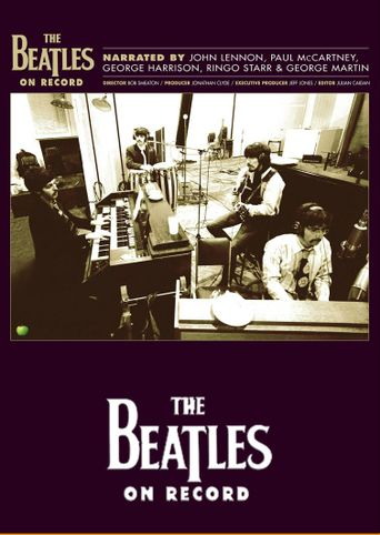 The Beatles on Record Poster