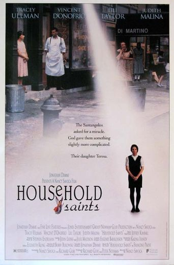Household Saints Poster