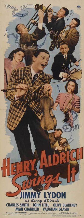 Henry Aldrich Swings It Poster