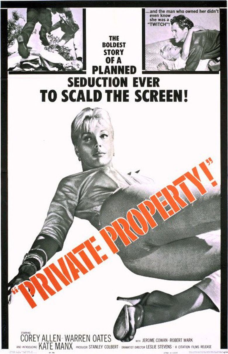 Private Property Poster