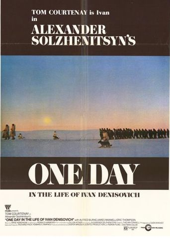 One Day in the Life of Ivan Denisovich Poster