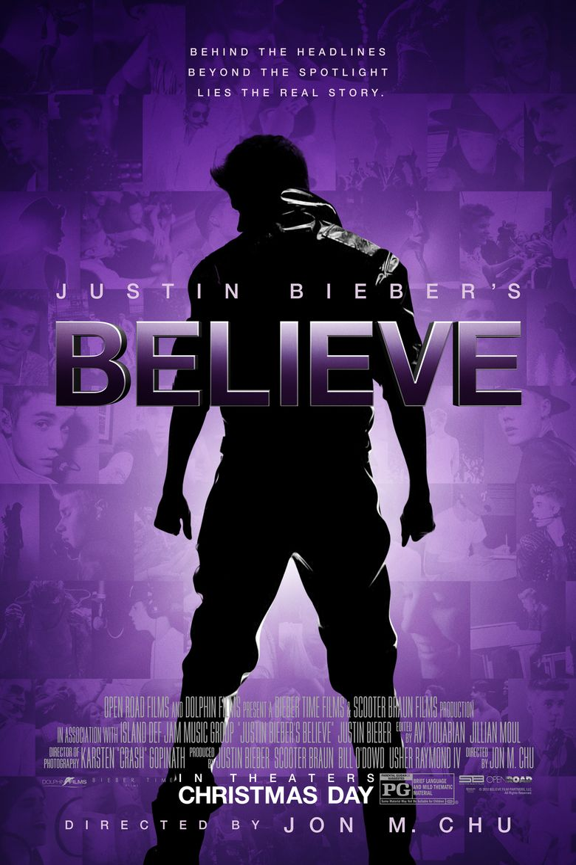 Justin Bieber: Believe Poster