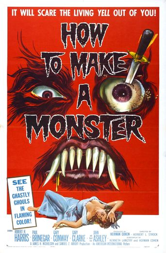How to Make a Monster Poster