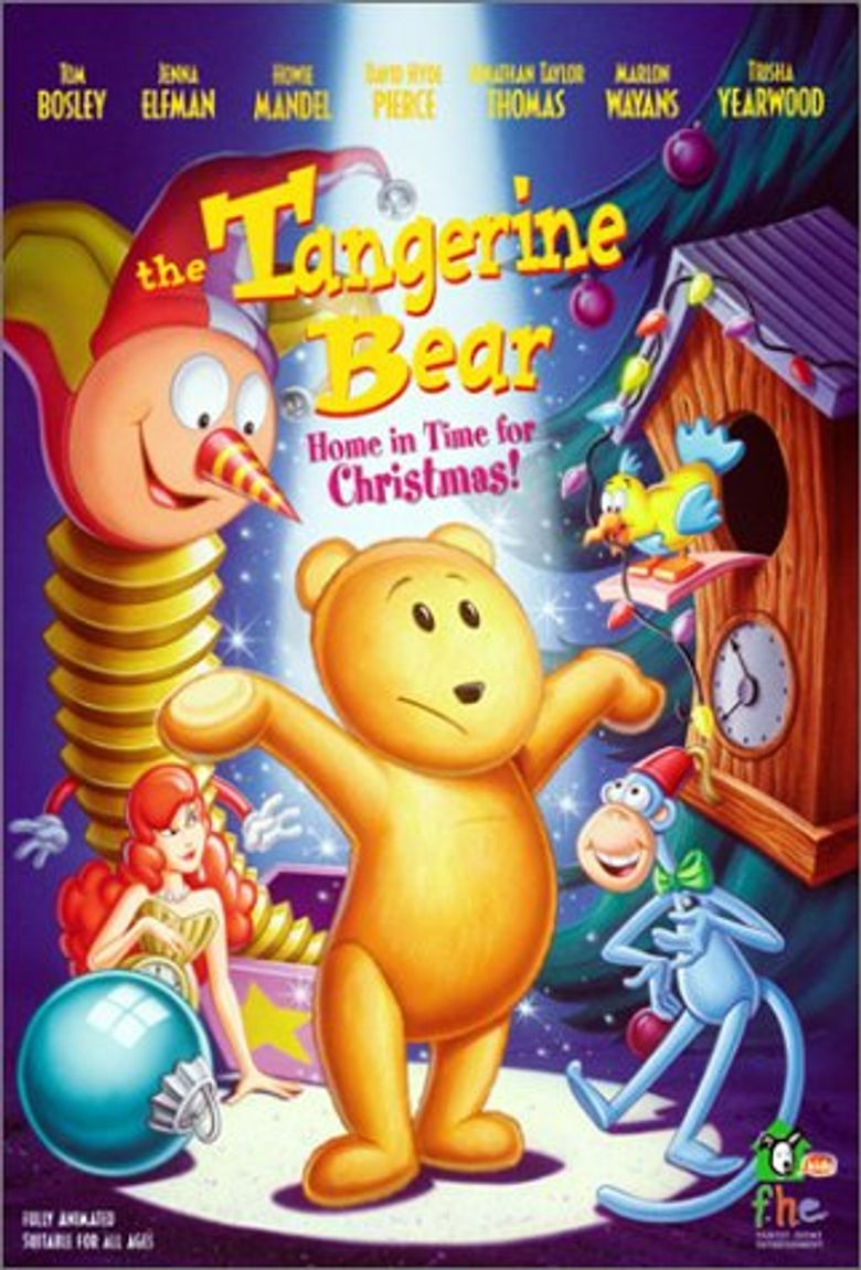 The Tangerine Bear: Home in Time for Christmas! Poster