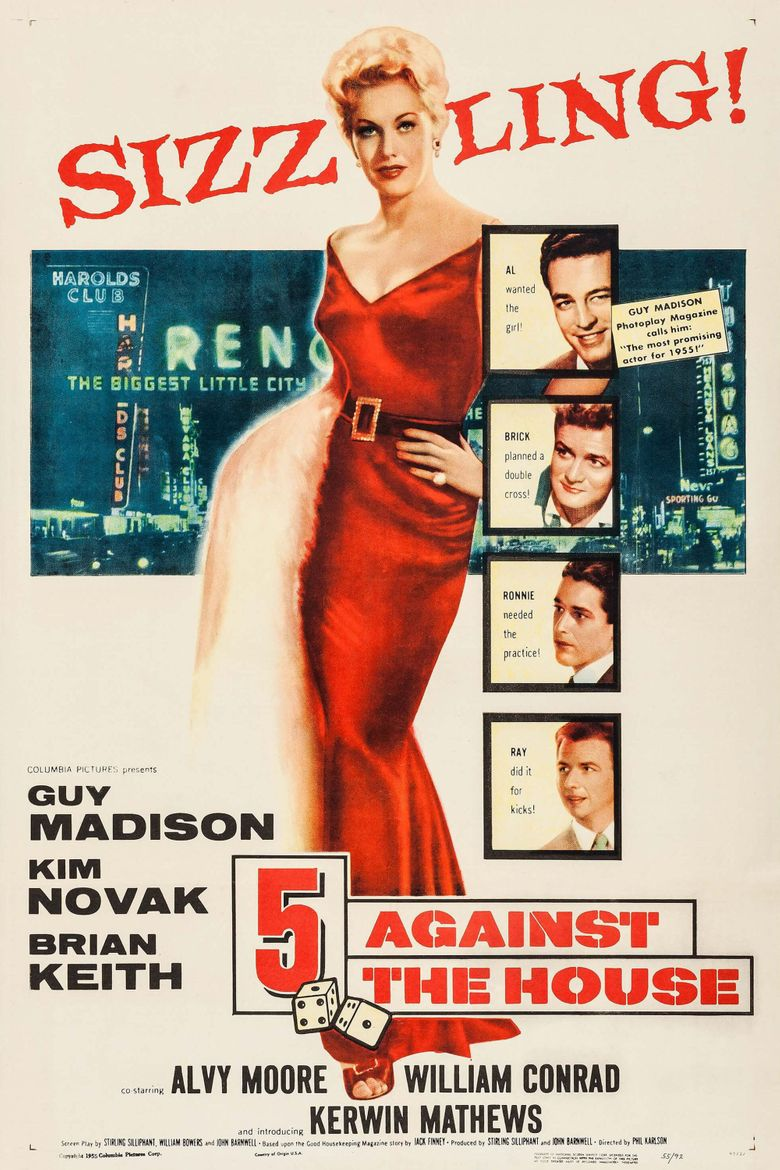 5 Against the House Poster