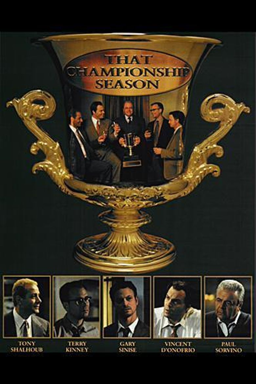 That Championship Season Poster