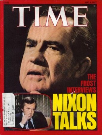 David Frost Interviews Richard Nixon Poster