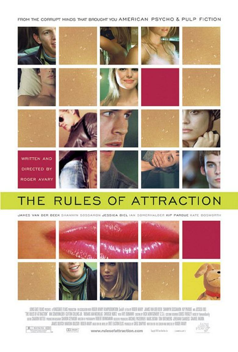 The Rules of Attraction Poster