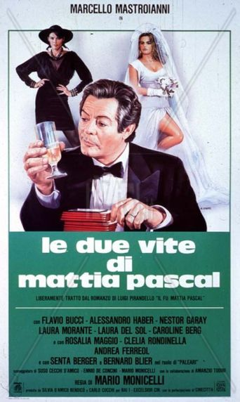 The Two Lives of Mattia Pascal Poster