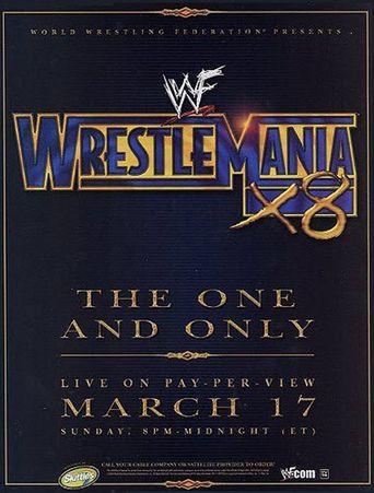 WWE Wrestlemania X8 Poster