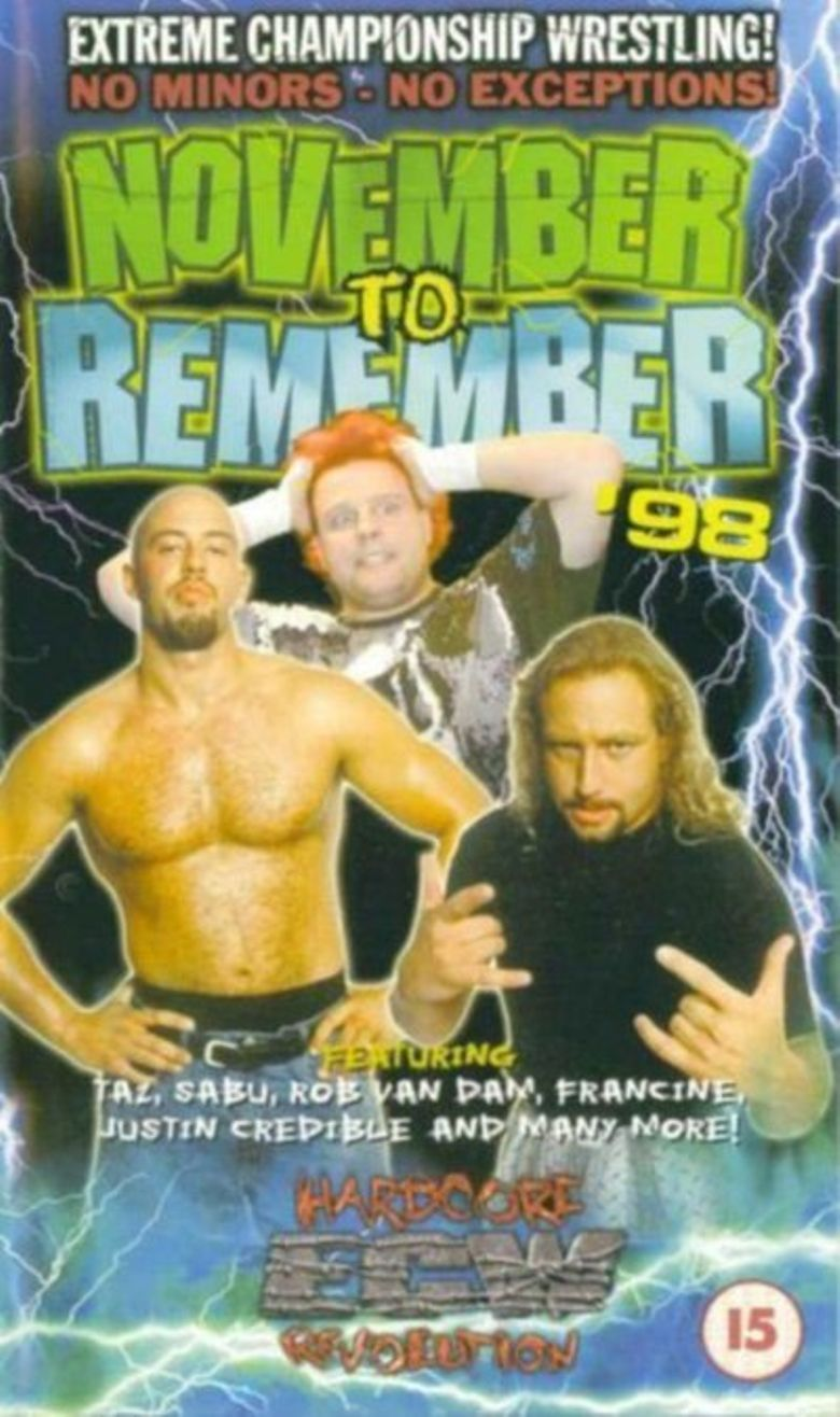 ECW November to Remember '98 Poster
