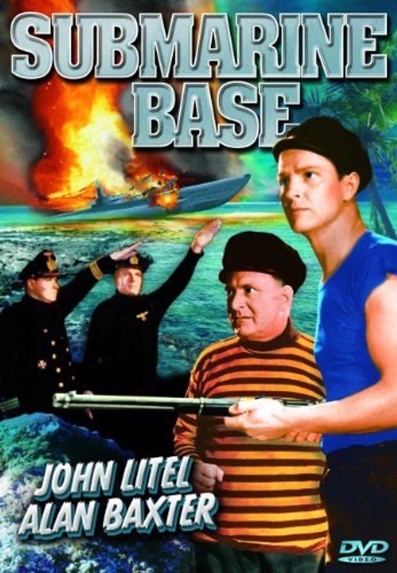 Submarine Base Poster