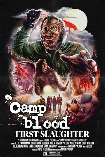 Camp Blood First Slaughter Poster