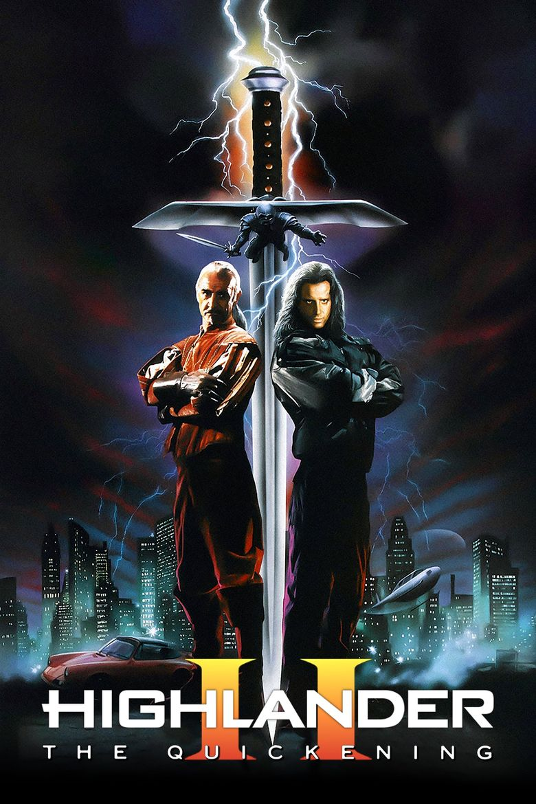 Highlander II: The Quickening Poster