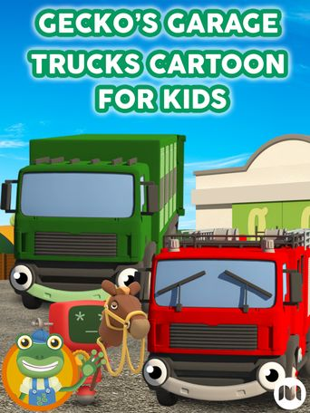 Gecko's Garage - Trucks Cartoon for Kids Poster